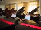Bei Steinway and Sons in Hamburg